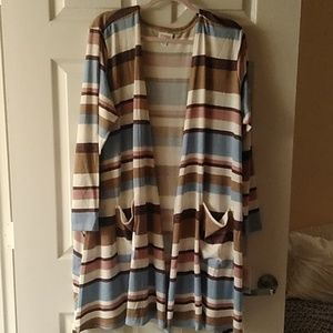 NWT CAROLINE SWEATER 2X POCKETS